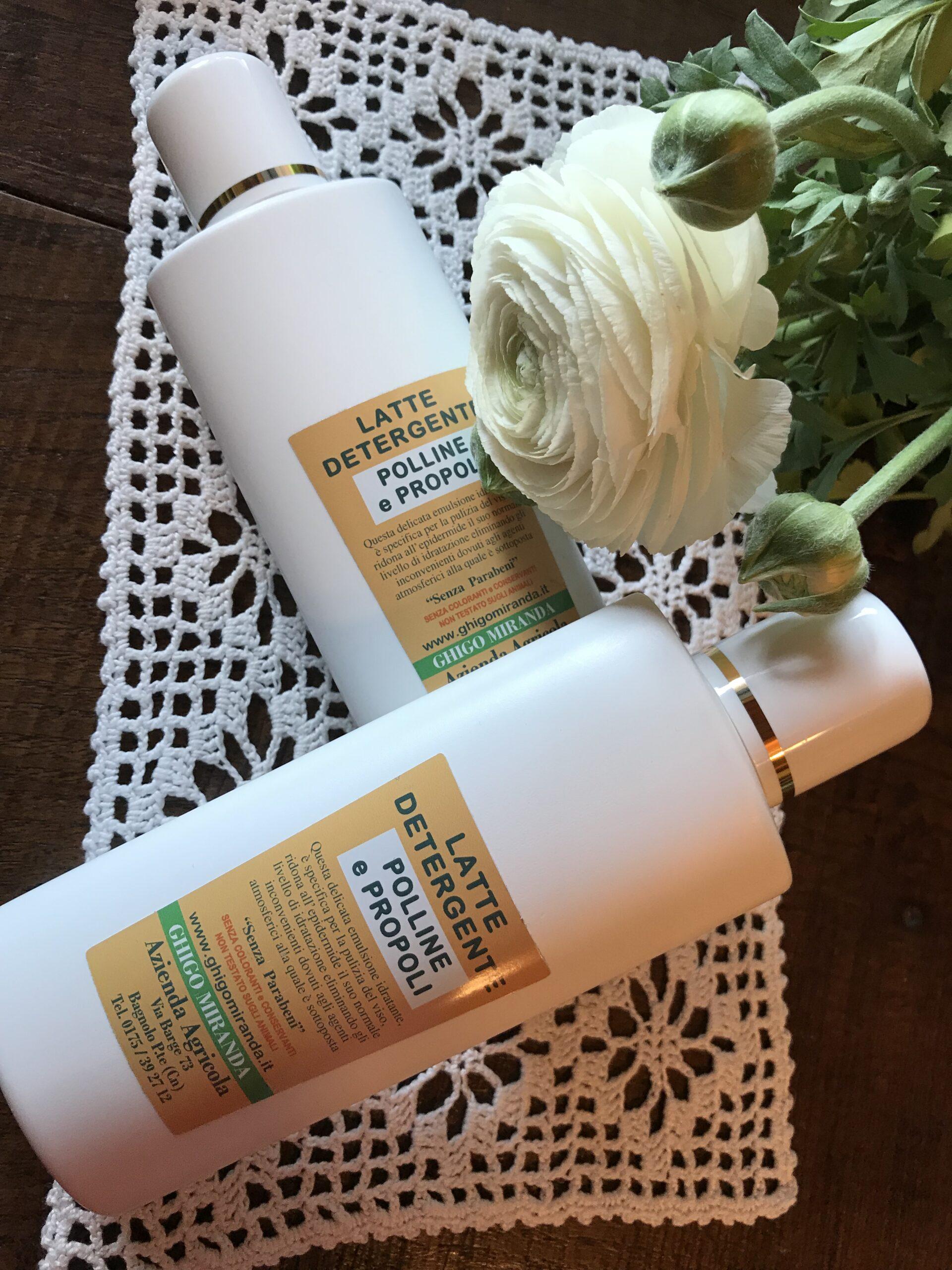 il latte detergente polline e propoli gruppo 2
