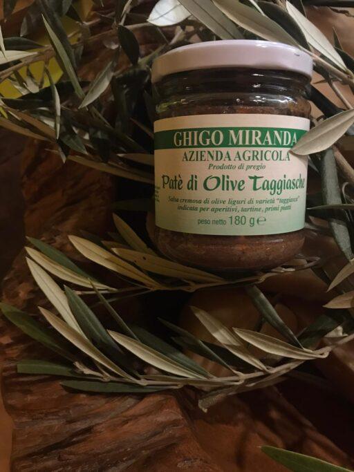 il patè di olive taggiasche