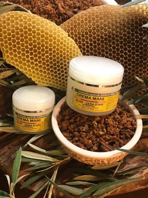 la crema mani aloe cera d'api e propoli gruppo (1)