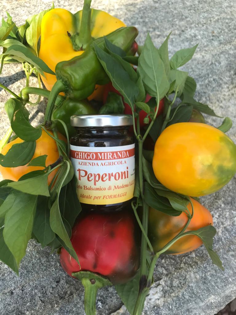 la salsa di peperoni