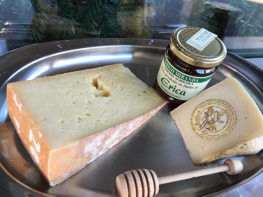 il miele di erica con i formaggi
