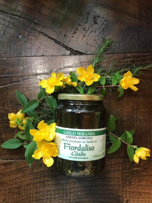 il miele di fiordaliso giallo (1)