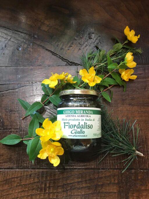 il miele di fiordaliso giallo (2)