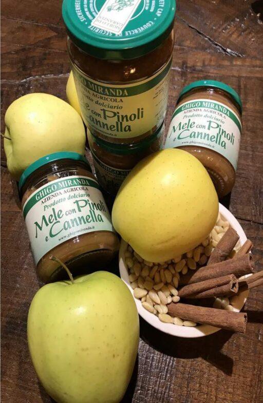 la confettura extra mela pinoli e cannella gruppo