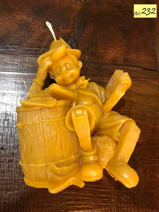 candela cera api Art.232 Pinocchio (1)