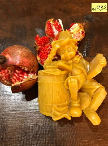 candela in cera d' api Art.232 Pinocchio (2)