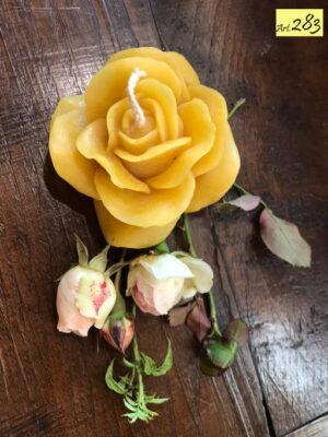 candela cera api Art.283 Rosa grande (1)