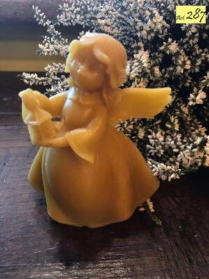 statua in cera d'api Art.287 Angelo panciuto lanterna (4)