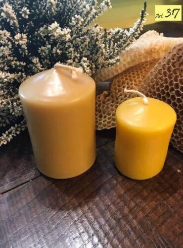 candele cera api Art.317 Ceri lisci 2pz Art.348 + Art.318 (4)
