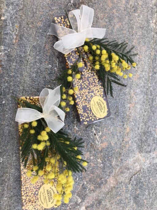 barretta cioccolato al polline fiori 2