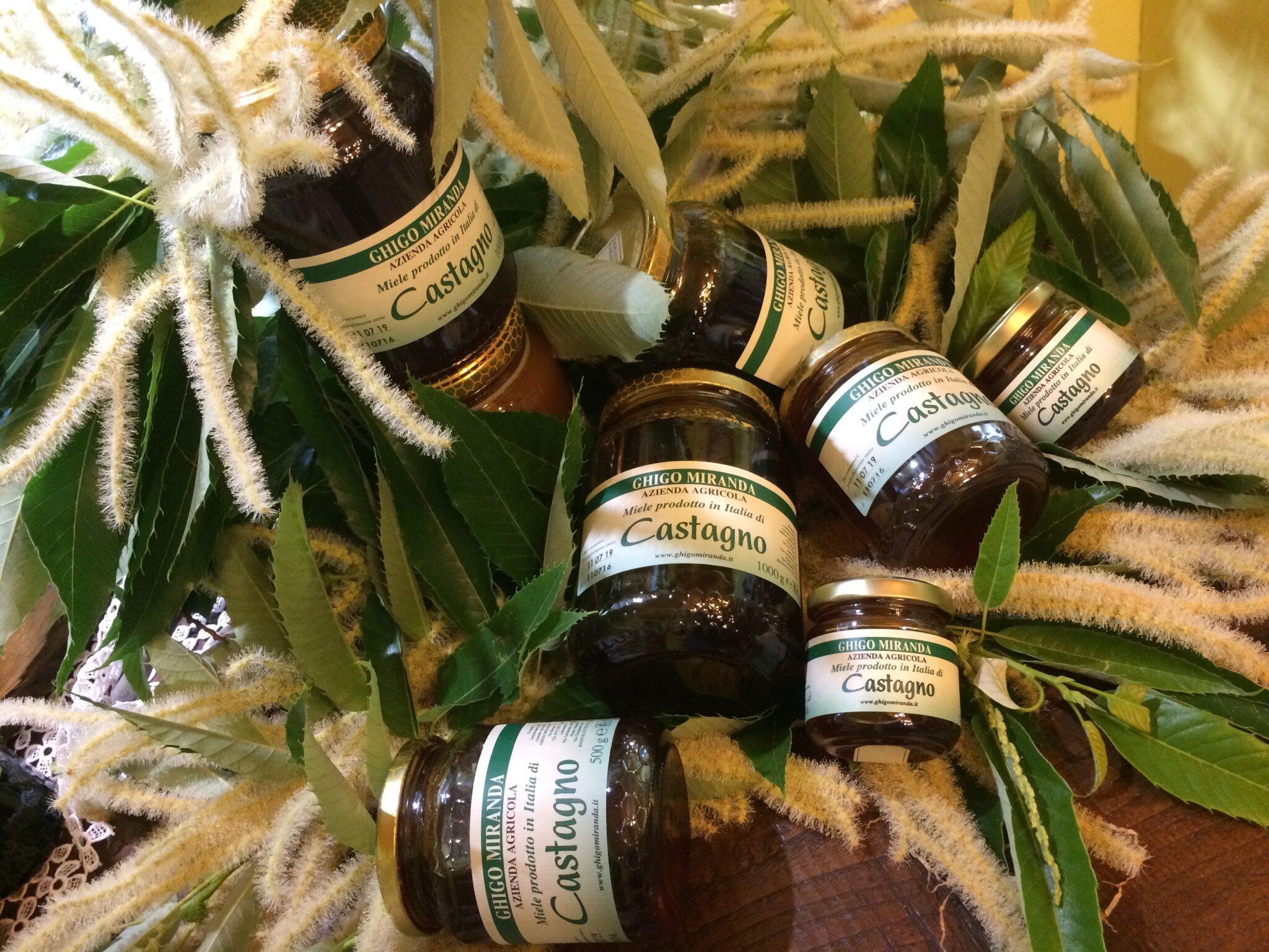 il miele di castagno